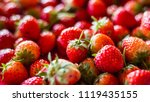 strawberry. fresh organic...   Shutterstock . vector #1119435155
