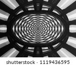 curvilinear grid structure... | Shutterstock . vector #1119436595