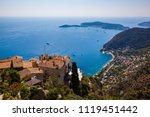 stunning view of the blue... | Shutterstock . vector #1119451442