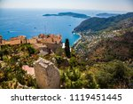 stunning view of the blue... | Shutterstock . vector #1119451445