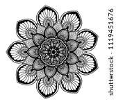 mandalas for coloring  book....   Shutterstock .eps vector #1119451676