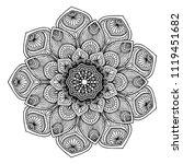 mandalas for coloring  book....   Shutterstock .eps vector #1119451682
