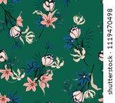 trendy seamless pattern vector... | Shutterstock .eps vector #1119470498