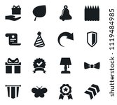 set of simple vector isolated... | Shutterstock .eps vector #1119484985