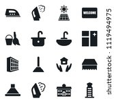 set of simple vector isolated... | Shutterstock .eps vector #1119494975