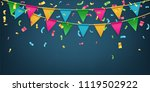 creative vector illustration of ... | Shutterstock .eps vector #1119502922
