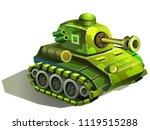 battle tank  military machine... | Shutterstock .eps vector #1119515288