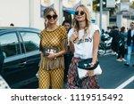 milan  italy   september 23 ...   Shutterstock . vector #1119515492