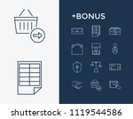 business icon set and sale with ...
