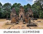 preah ko temple in the roluos...   Shutterstock . vector #1119545348