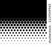 linear halftone pattern.... | Shutterstock .eps vector #1119549965
