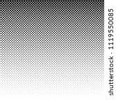 linear halftone pattern.... | Shutterstock .eps vector #1119550085