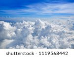 Cumulus Sea Of Clouds View Fro...