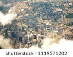 dallas aerial view in texas usa | Shutterstock . vector #1119571202