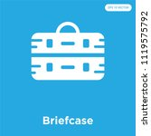 briefcase vector icon isolated...   Shutterstock .eps vector #1119575792