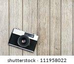 Vintage Photo Camera On A...