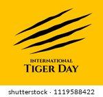 International Tiger Day....