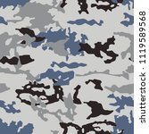 fashionable camouflage pattern  ... | Shutterstock .eps vector #1119589568