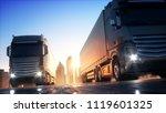 shipping 3d illustration   Shutterstock . vector #1119601325