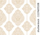 gold and white ornamental... | Shutterstock .eps vector #1119605108