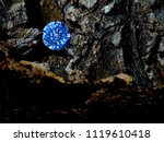 a manipulated diamond to show...   Shutterstock . vector #1119610418
