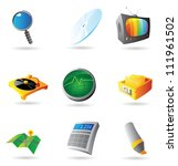 icons for interface. vector... | Shutterstock .eps vector #111961502