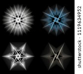 symbols of sacred geometry ... | Shutterstock .eps vector #1119634952