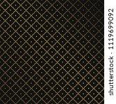 seamless golden geometric... | Shutterstock .eps vector #1119699092