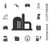 refinery icon. simple element... | Shutterstock .eps vector #1119728408