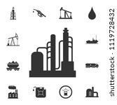 refinery icon. simple element... | Shutterstock .eps vector #1119728432