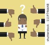 african businessman get...   Shutterstock .eps vector #1119746648