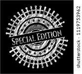 special edition chalkboard... | Shutterstock .eps vector #1119753962