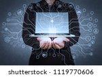 artificial intelligence  ai ... | Shutterstock . vector #1119770606
