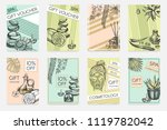 vector set with banner template ...   Shutterstock .eps vector #1119782042