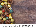 christmas or new year... | Shutterstock . vector #1119783512