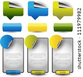 web banners stickers tags | Shutterstock .eps vector #111979982