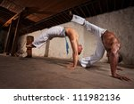 Two Strong Male Capoeira...