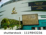 Small photo of Bangkok, Thailand - September 16, 2017: Front of the Emporium shopping mall in Bangkok. It opened in 1997, owned and operated by The Mall Group, who also operate the EmQuartier and Siam Paragon malls.