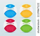 presentation business...   Shutterstock .eps vector #1119867122