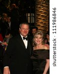 Small photo of Al Gore and Tipper Gore at the 2007 Vanity Fair Oscar Party. Mortons, West Hollywood, CA. 02-25-07