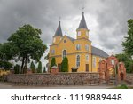 tverai  lithuania  june 23th ... | Shutterstock . vector #1119889448