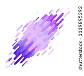 glitched ultra violet abstract... | Shutterstock .eps vector #1119895292
