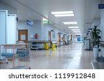 hallway the emergency room and...   Shutterstock . vector #1119912848