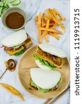delicious homemade meals  ... | Shutterstock . vector #1119913715