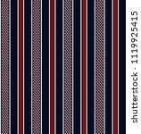 stripe seamless pattern with... | Shutterstock .eps vector #1119925415