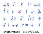 business people character set.... | Shutterstock .eps vector #1119927332