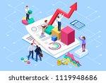 financial administration... | Shutterstock .eps vector #1119948686