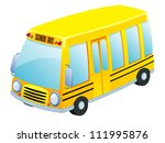 School bus vector - stock vector