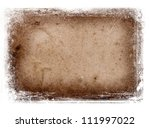 old paper texture with grungy...   Shutterstock . vector #111997022