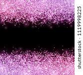 glitter with pink violet color... | Shutterstock .eps vector #1119998225